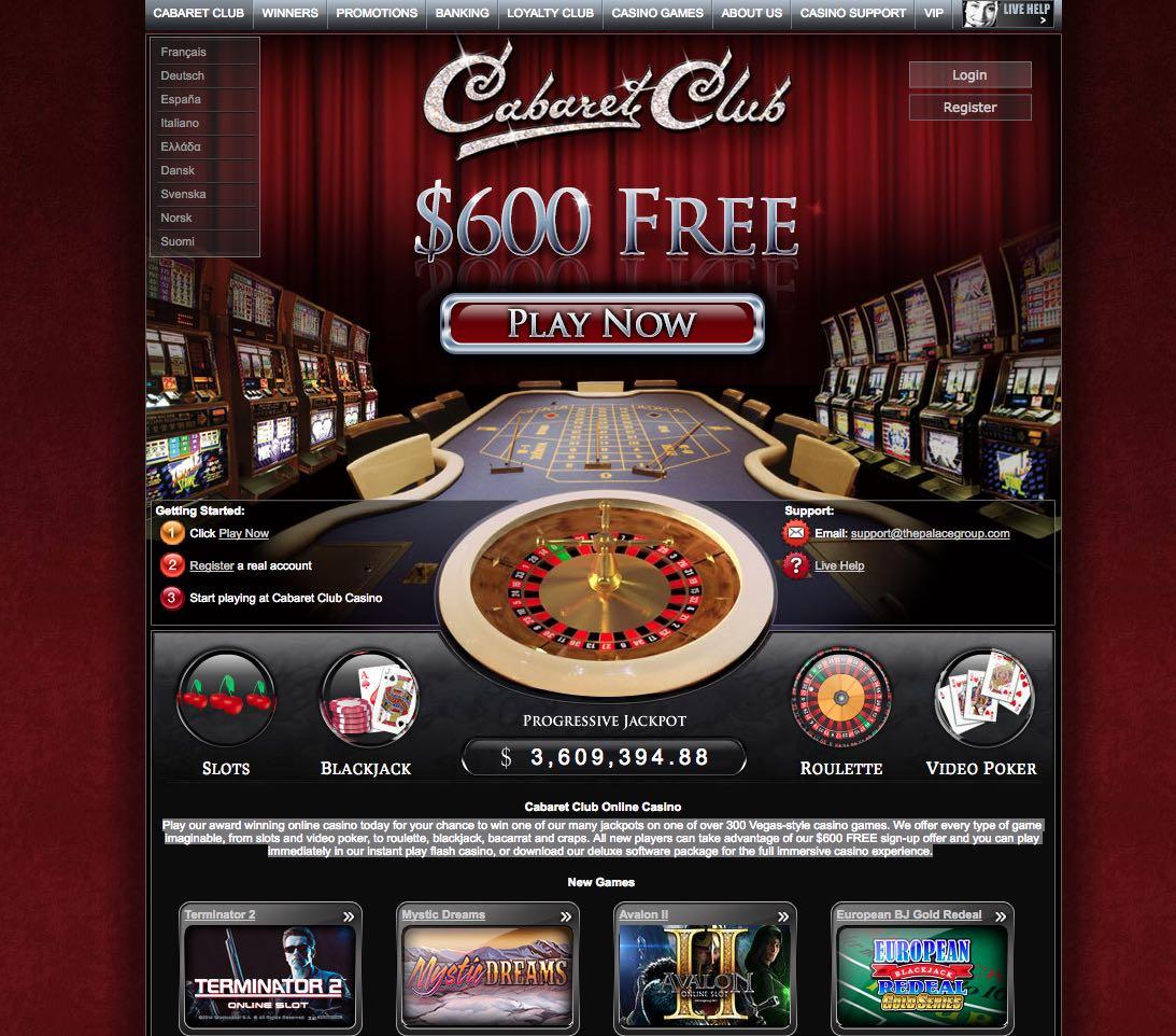 Cabaret club no deposit bonus 2021 kakitangan