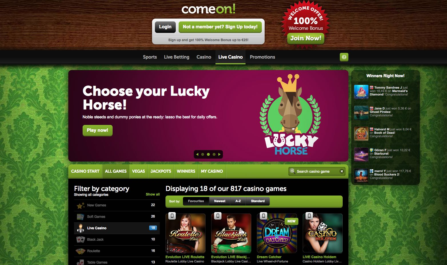 Golden riviera online casino