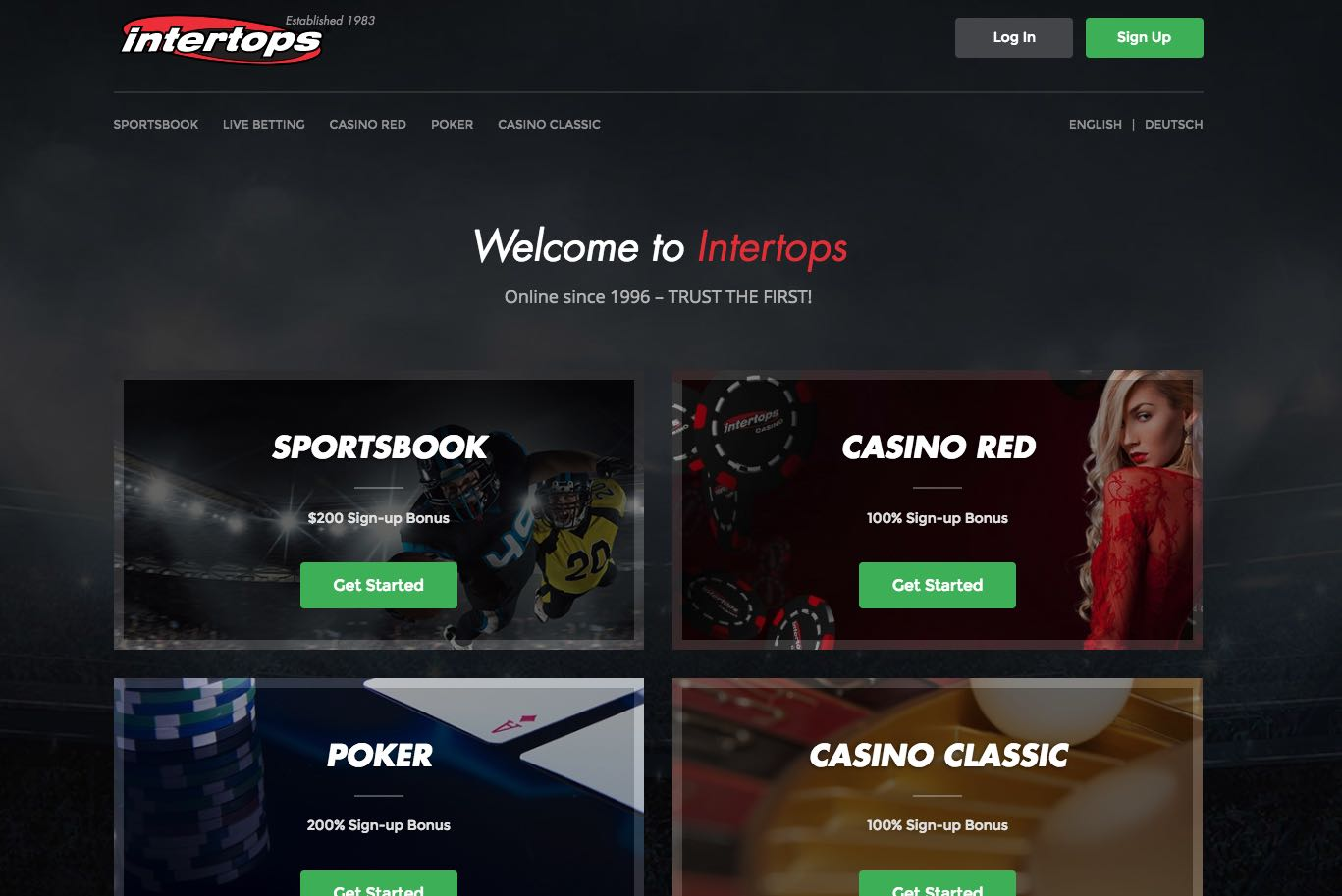 Intertops casino free bonus