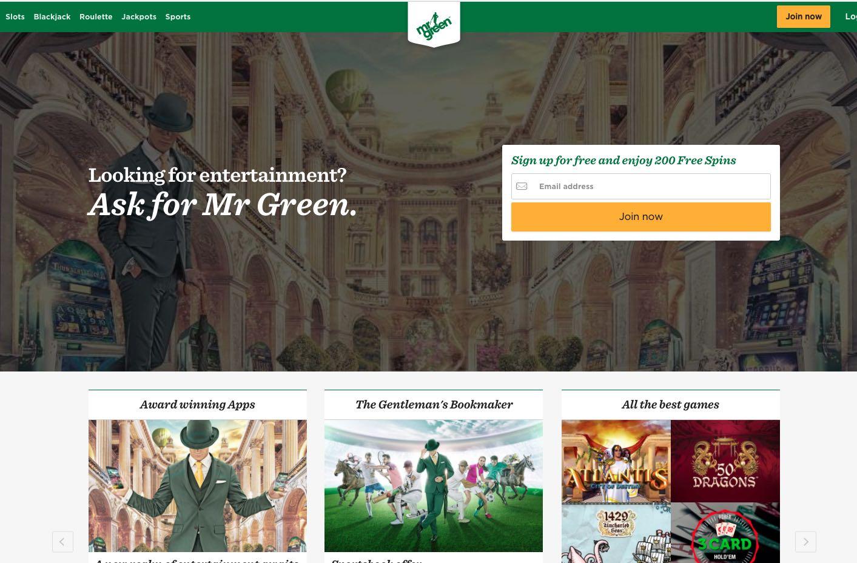 Mister Green Online Casino