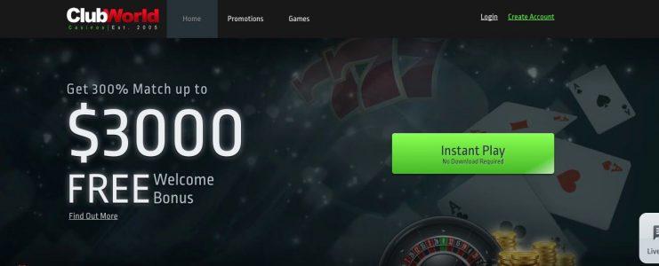 Websites Similar To Club World Casino Best Online Casinos 2020