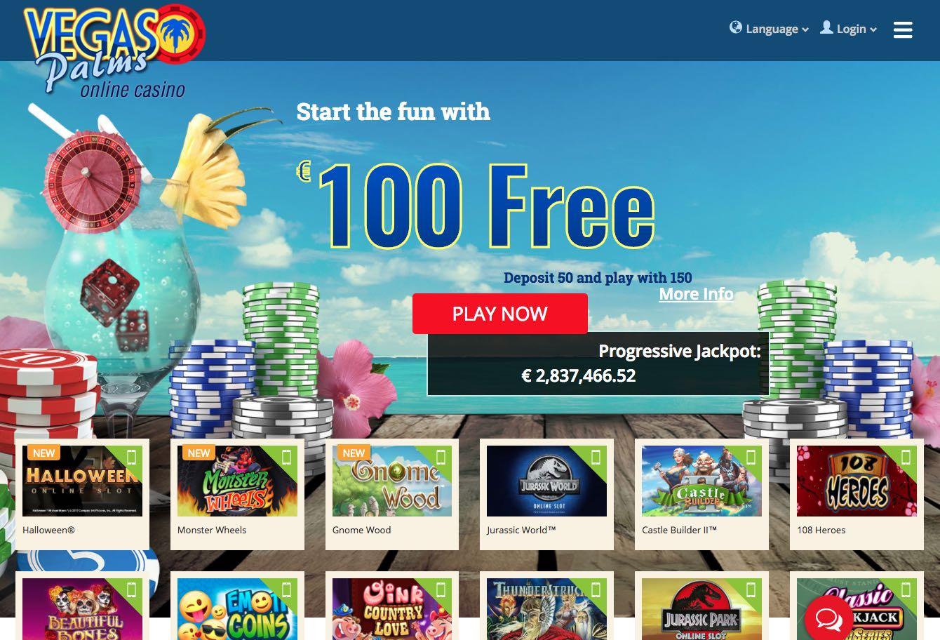 Vegas Palms Online Casino Download
