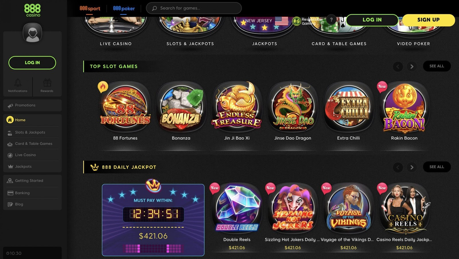888 Casino Will Not Leave Any Gambler Nonchalant With A Lavish Bonus Of 100 Up O 140 On The 1st Deposit