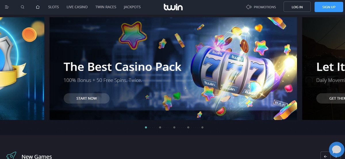 Twin Casino Is A Spectacular Casino That Offers 400 Welcome Bonus 1500 Euros