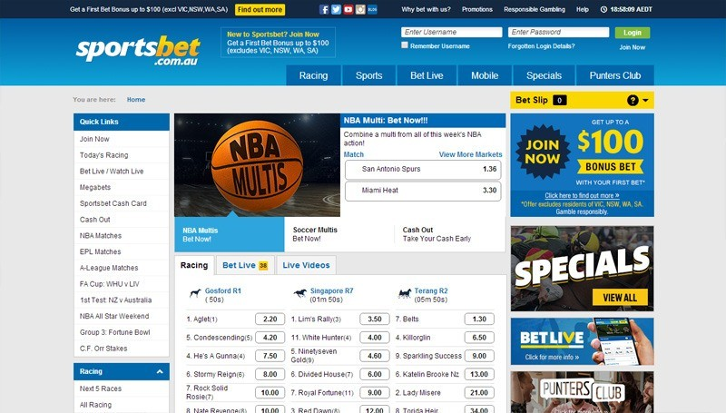 Sportsbet Line Betting